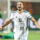 Algerien bejubelt Sieg bei Afrika Cup