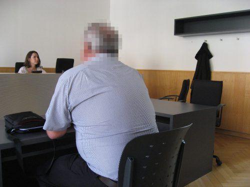 Als Angeklagter vor Gericht gab sich der 57-Jährige reumütig.eckert