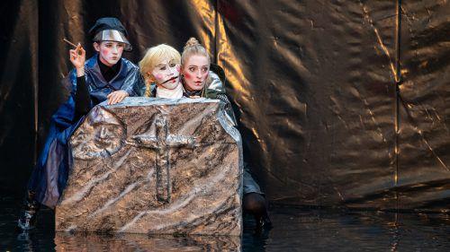 Als Open-Air-Theater bietet Shakespeare am Berg eine Verbindung zwischen Kulturgenuss und Outdoor-Erlebnis. vn/Lerch
