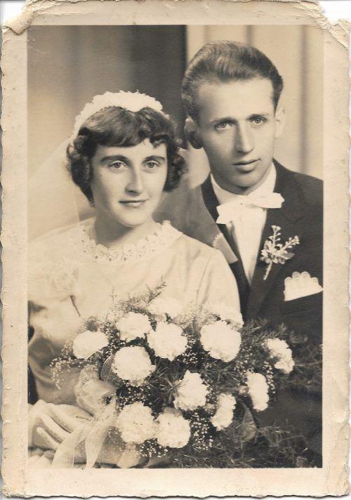 Am 24. Juli 1959 gaben sich Frieda und Hans Strasser das Jawort. Strasser