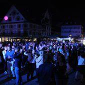 Silent Disco am Marktplatz