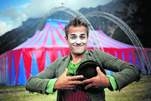 An Bord des MS Austria sorgt Clown Pompo für Unterhaltung. veranstalter
