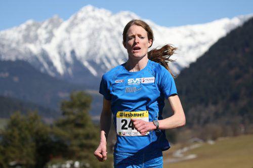 Andrea Mayr landete bei der Berglauf-EM in Zermatt auf Platz zwei. gepa