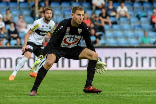 Andreas Lukse könnte der Sprung nach Deutschland gelingen. Der Ex-Altach-Goalie absolviert beim deutschen Zweitligisten 1. FC Nürnberg einen Medizintest.epa