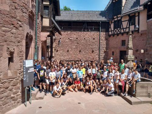 Anfang Juli ging es für die dritten Klassen des Gymnasiums Schillerstraße nach Straßburg und Colmar.GYS Feldkirch