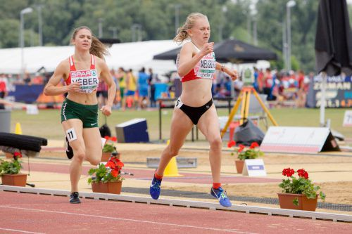 Anna-Sophie Meusburger war als einzige bereits 2017 in Györ dabei.Verband