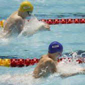Drei Weltrekorde im Schwimmen an einem Tag