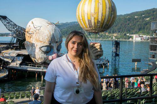 Antonela Ivic schätzt ihren abwechslungsreichen Arbeitsalltag. VN/Paulitsch