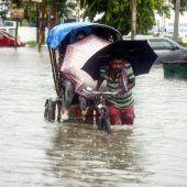 Dutzende Tote und schwere Schäden nach Monsunregen