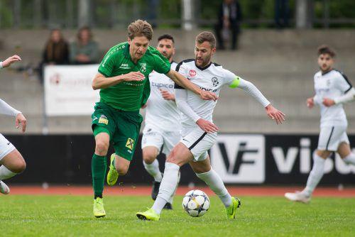 Auch in der neu gestalteten Eliteliga wird es zu Duellen zwischen SW Bregenz und Dornbirner SV kommen.vn