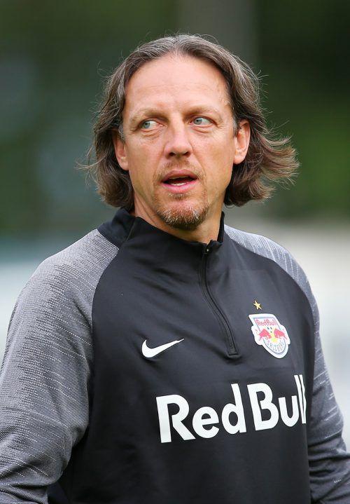 Auch RB Salzburg-Cotrainer René Aufhauser ist von Diakite vollends überzeugt.gepa
