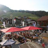 Lecher Dorffest am Rüfiplatz