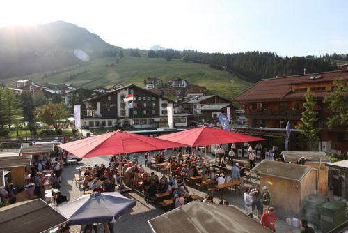 Auf dem Rüfiplatz wird am Samstag groß gefeiert. Gemeinde