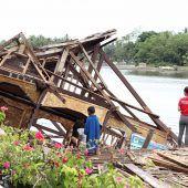 Schwere Erdbeben sorgen für Panik