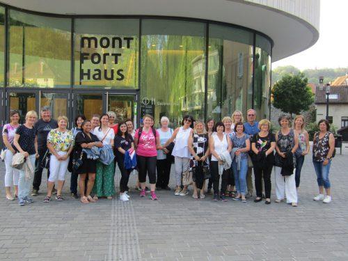 Auf Erkundungstour durch Feldkirch ging es für die Mohi-Helfer. Mohi Rankweil