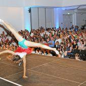 Akrobatik und Eleganz: Gymnaestrada in Hard
