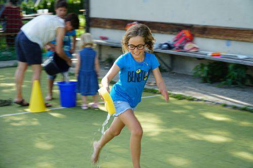 Bei den Spielen waren Geschwindigkeit und Geschick gefragt.