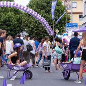 Spiel, Sport und Spaß beim 36. Milka-Schokofest in Bludenz