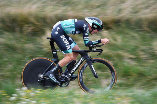 Bei der Tour de France will Patrick Konrad einen Top-Ten-Gesamtplatz.afp