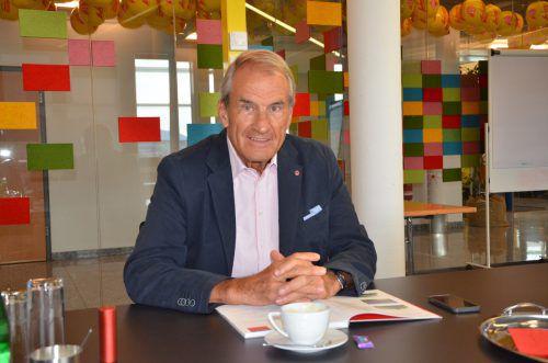 Bei Dieter Intemann hat die Kultur einen hohen Stellenwert. Reiner