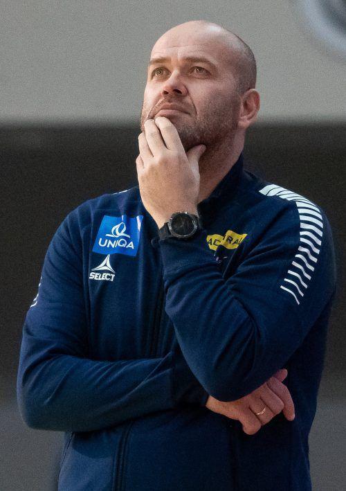 Bei einem Aufstieg träfe Hard auf Ex-ÖHB-Teamchef Johannesson (Bild).APA