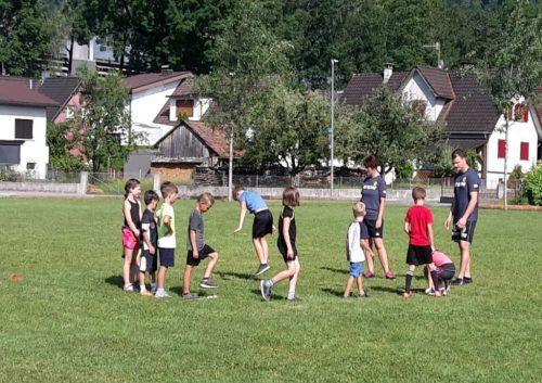 Beim Eishockey-Nachwuchs herrscht derzeit Sommerbetrieb.mima