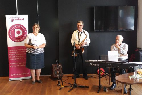 Beschwingter Musiknachmittag beim PVÖ Vorarlberg. pvö