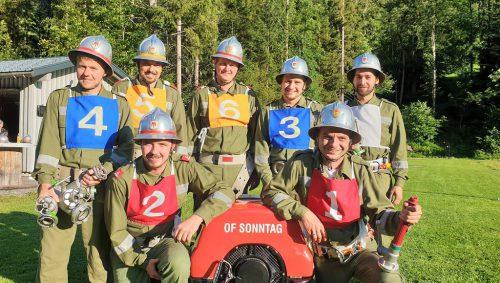Bestens vorbereitet ist die Feuerwehr auf die anstehenden Bezirksbewerbe.KRS