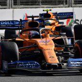 McLaren setzt weiter auf Sainz und Norris