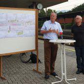 Zwist um Bahnhofssanierung in Götzis