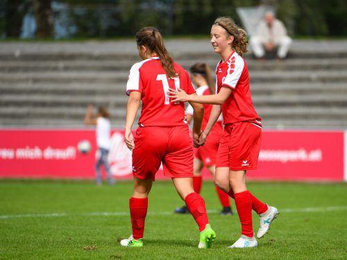 Caroline Fritsch steht im Aufgebot der österreichischen U-17-Auswahl. VN/Lerch