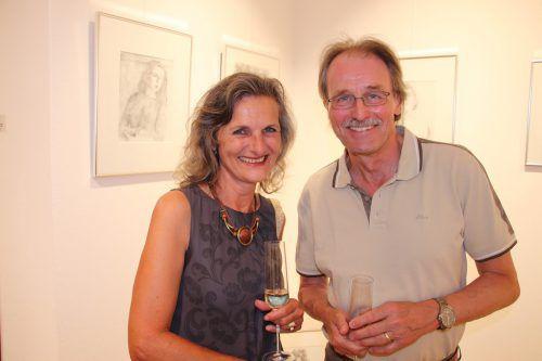 Christina Veron und Martin Mittendorfer (La Piccola Galleria).