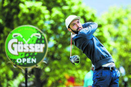 Claus Jäger holte sich bei der österreichischen U-21-Golfmeisterschaft mit sechs Schlägen Vorsprung den Meistertitel.gepa