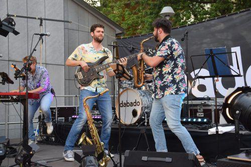 """""""Dabado"""" aus Götzis unterhielten das Publikum mit Live-Musik."""