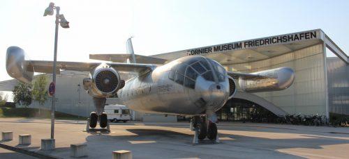 Das Dornier Museum feiert Zehn-Jahres-Jubiläum mit einer Sonderschau. STP