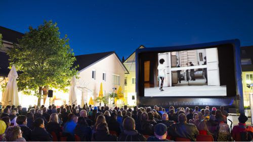 Ein solches Bild gehört der Vergangenheit an: Das Kurzfilmfestival Alpinale zieht von Nenzing zurück nach Bludenz. Alpinale