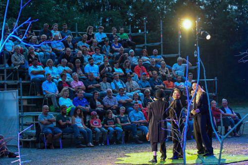 """Das Freilufttheater """"Shakespeare am Berg"""" geht in die fünfte Runde. lerch"""
