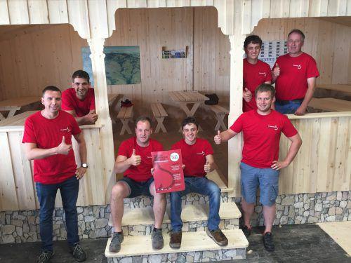 Das Komitee: Erwin Greber, Ronny Berchtold, Sebastian Greber, Rupert Kohler, Tobias Meusburger, Jonas Schneider, Ludwig Kohler.