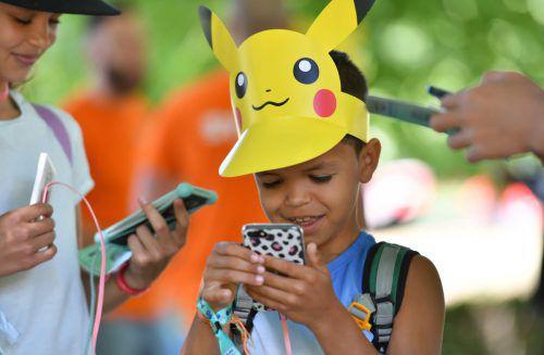 """Das """"Pokémon Go""""-Fest lockt Tausende aus aller Welt. Reuters"""