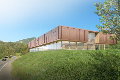 Das renommierte Architekturbüro Hermann Kaufmann plant den großzügigen neuen Simma-Firmensitz in Egg.HK&P