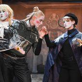 Heuer wird Hamlet zur Frau
