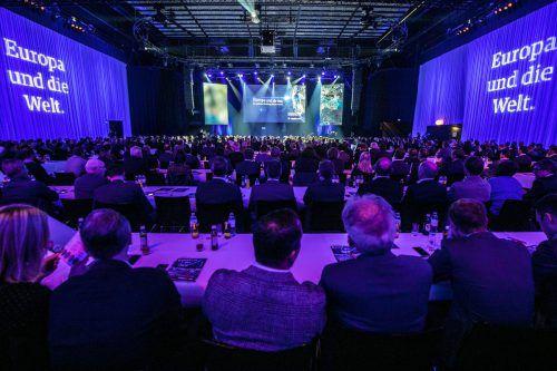 Das Vorarlberger Wirtschaftsforum geht heuer ein Risiko ein: Die Referenten berichten über Chancen und Gefahren in Zeiten der Veränderung. VN/Sams