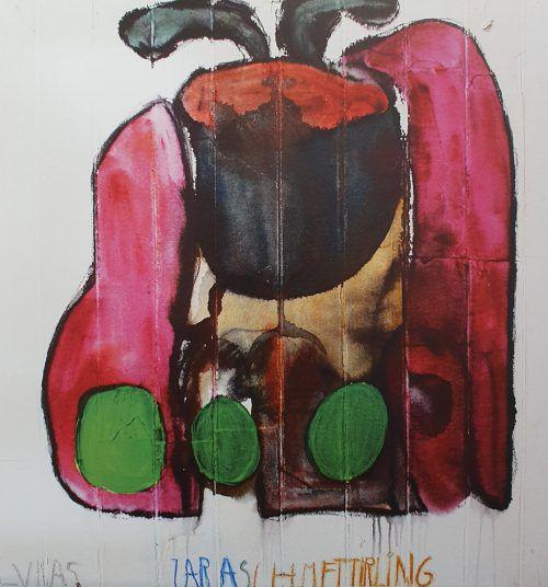 """Das Werk """"Zaraschmetterling"""" von Lukas Moll ist heuer entstanden."""