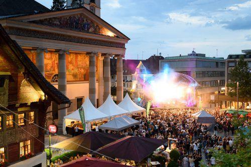 DasOrigano Festival auf dem Dornbirner Marktplatz findet vom 11. bis 13. Juli statt. M. Rhomberg