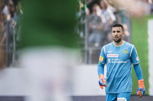 Dejan Stojanovic war der Pechvogel bei der Auftaktniederlage des FC St. Gallen.gepa