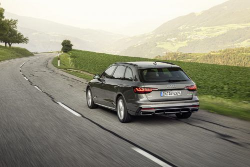 Den Audi A4 gibt es auch in der nächsten Generation wieder als Allroad mit robuster Offroad-Optik.werk