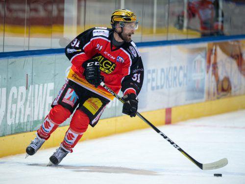 Der 37-jährige Routiniers Daniel Fekete geht bei der VEU Feldkirch in seine achte Saison.VN