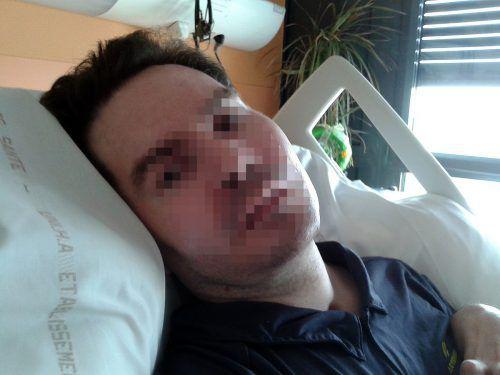 Der 42-jährige Vincent Lambert ist im Jahr 2008 bei einem Verkehrsunfall verunglückt.