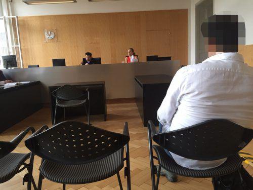 Der Angeklagte wies vor Gericht jeden Vorwurf vehement zurück. VN/GS