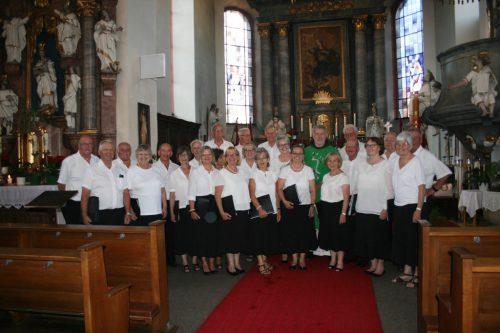 """Der Chor """"Vocalklang"""" machte sich auf den Weg nach Rothenburg.vocalklang"""